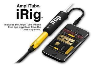 Irig amplitube conecta tu guitarra a tu iphone ipad o ipod
