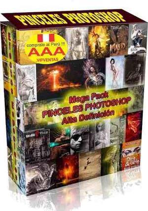 Mega pack brushes pinceles photoshop profesionales hd