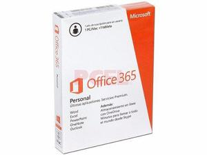 Office 365 personal en caja sello original sku-qq2-00050