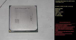 Procesador amd phenom ii x6 1100t 6 nucleos 3.7ghz turbo