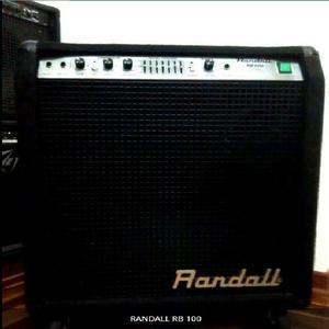 Randall rb 100 amplificador para bajo