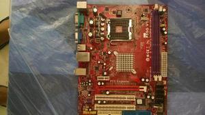 Remato placa socket 775 pc chips p55g mas procesador