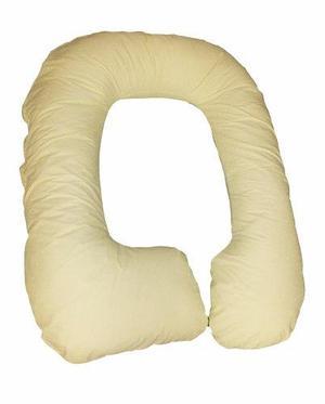 Almohada cojín prenatal para embarazadas - color amarillo