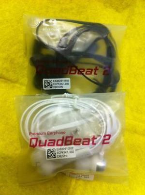 Usado, AUDIFONOS EARPHONE LG G3,G4,G2 QUADBEAT 2 ORIGINAL -OFERTA segunda mano  Lima (Lima)