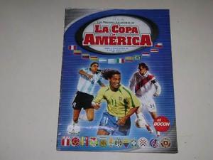 Copa américa perú 2004 - album de laminas el bocon