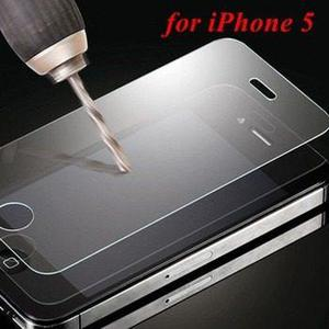 Lamina de vidrio templado, iphone 5, 5s,5c tempered glass