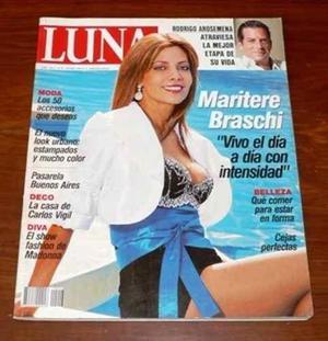 Luna 2008 maritere braschi madonna buenos aires moda belleza