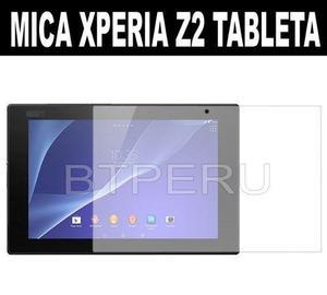 Mica film protector lamina sony xperia z2 tablet 10.1 tablet