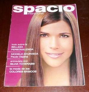 Revista spacio pantene moda belleza rizos cabello peinados
