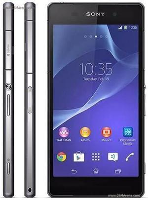 Sony xperia z2 4g 20.7 mp libre fabrica 16gb 4k 3gb ram