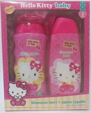 5935e984bb28 Set de regalo shampoo y jabón liquido hello kitty baby en Lima ...