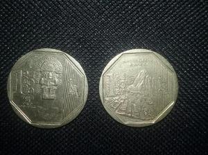 Monedas de coleccion tumi, machu p.