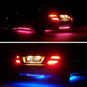Tiras de leds rgb de 7 colores para carro con control remoto
