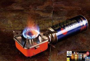 Cocina portatil para camping encendido autómatico