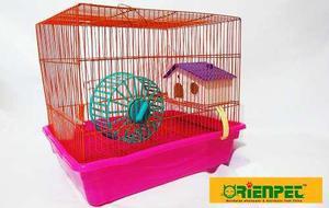 Jaula grande nueva importada de 3 pisos para hamster