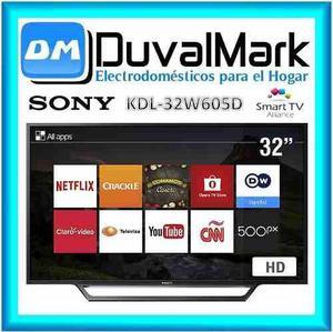 e6a6a77a3 Tv led sony bravia 32 hd smart tv kdl-32w605d wifi sellado en Lima ...