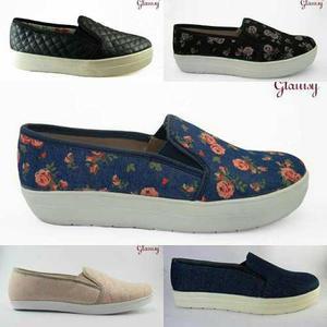 Slip on para mujer sneakers zapatillas alpargatas top siders