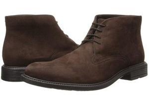 Botines hombre calzado vestir zapatos aumenta estatur gamuza