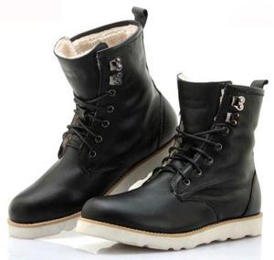 ca4a2b12e3 Calzado hombre botas martin genuine leather acolchadas
