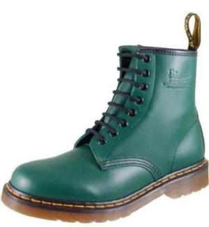 a03ce0a2614 Calzado hombre botines dr. martens 100% original verde