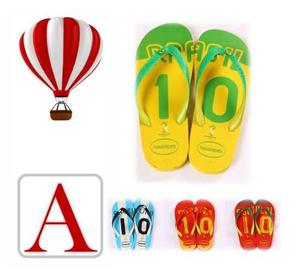 Calzado hombre sandalias playeras mundial brasil amazing