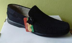 Calzado - zapatos mocasines para hombre cuero nobuk