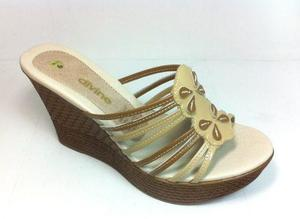 Sandalia de cuero, oferta de sandalias de mujer, sandalias