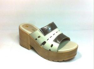Sandalia de taco, sandalia de mujer, oferta zapato mujer