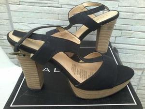 Sandalia zapato cuña plataforma para mujer talla 40