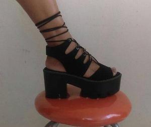 Sandalias de mujer con plataforma ultra livianas taco 7