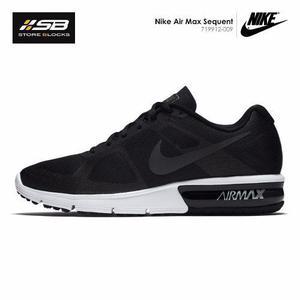 huge discount ee489 3bf85 Zapatillas Nike Air Max Sequent - Hombre - Negro Originales