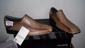 Zapato calimod talla 39 peru color nutria nuevo en caja