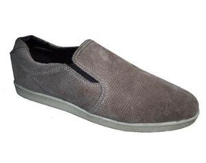 Zapato calzado navigata 100% cuero gamuza t.44 jean casaca
