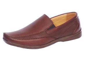 Zapato de cuero vacuno - calzado caballero - mocasin hombre