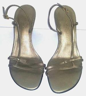 Zapato mujer antonio melani sandalia talla 37 navidad regalo