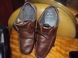 Zapatos bata de cuero usado tall-43 buenisimo estado calidad ea2d048bc299