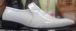 1cc46bc89d3 Zapatos charol blancos hombre vestir