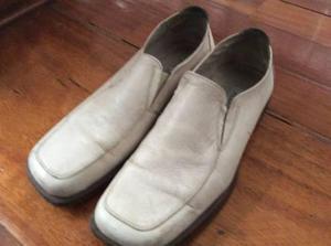 Zapatos de cuero aldo importados usa talla 13 cuero blanco