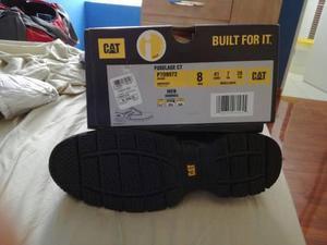 2f26f22fe51 Zapatos de seguridad cat fuselage ct talla 8 (41) 100% nuevo