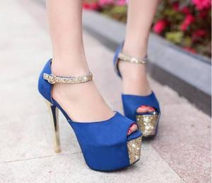en venta d2efc 225dd Zapatos importados taco plataforma 【 REBAJAS Septiembre ...