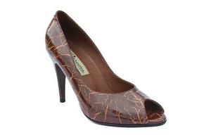 Zapatos mujer 100% cuero - tala 36 - acabado acharolado -