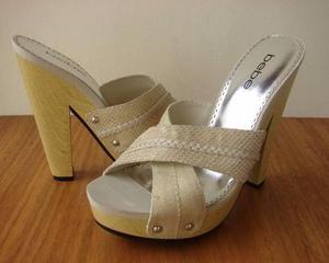 Zapatos mujer bebe talla 38 plataforma sandalias originales