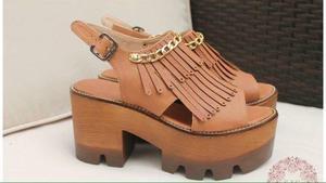 Zapatos mujer plataforma chunky avance de temporada