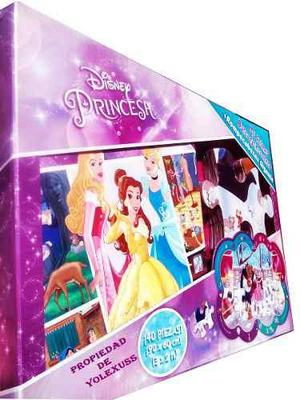 Disney princesas -busca y encuentra con rompecabezas gigante