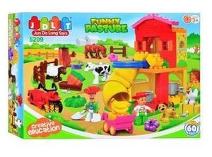 Lego alterno jdlt granja granjeros animales vaca armable edu