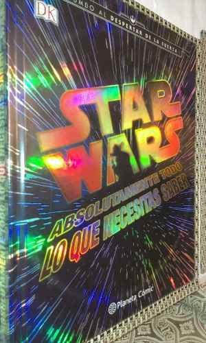 Star wars - todo lo que necesitas saber - libro - nuevo