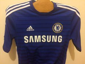 Camiseta adidas fútbol chelsea 2014 15 talla m nike puma cca5914f0e9bf