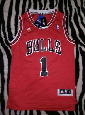 1 Bulls Rose S Chicago Nba Talla Original Camiseta Adidas qItZnS