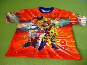 Dragon ball polo camiseta deportiva de vestir para niños en Lima ... 903261eb4e3a1