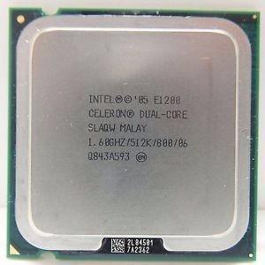 PROCESADOR E1200 DUAL CORE Y MEMORIA RAM 1GB KIGSTON DDR2 segunda mano  Lima (Lima)